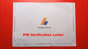 How to verify Google Adsense Pin