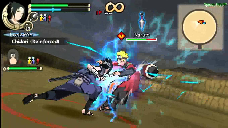 download naruto ninja impact ppsspp