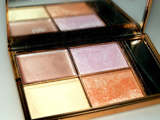 Sleek Makeup Precious Metals Highlighting Palette Solstice Swatches