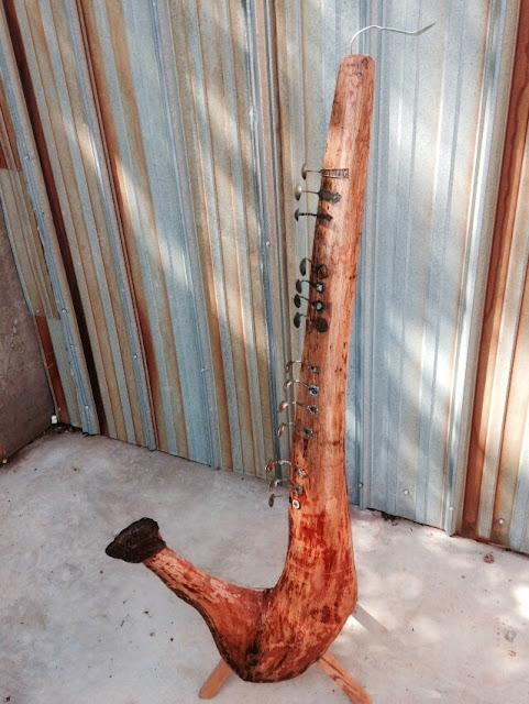 Found Object Art: 'Sax' by Fred Leach