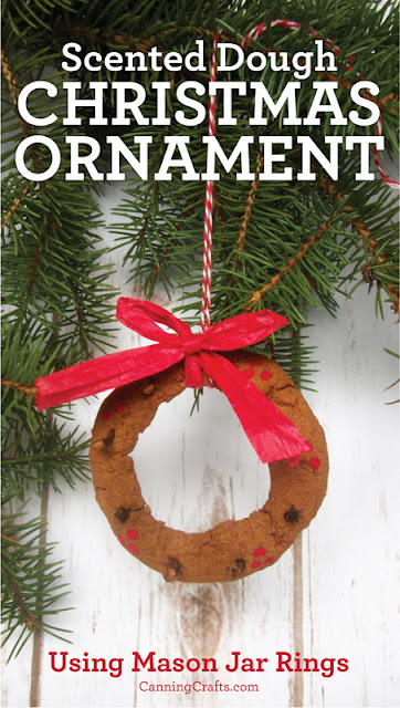 Scented Dough Christmas Ornaments