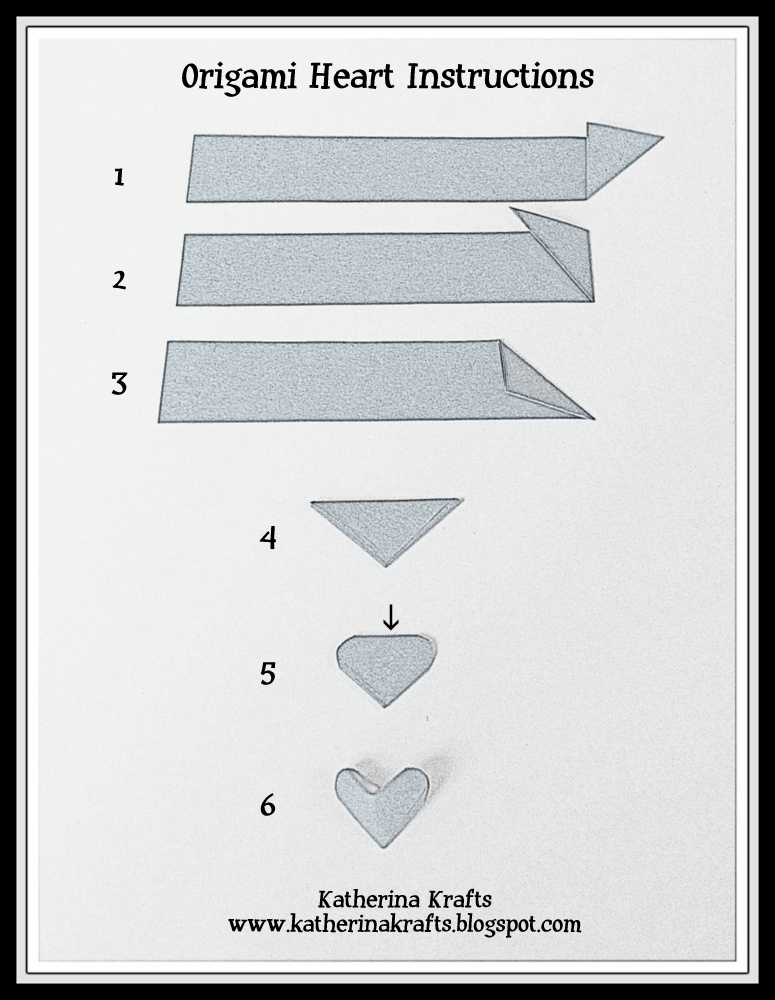 How to Fold Double Origami Heart diy how to tutorial | Paper ... | 1000x775