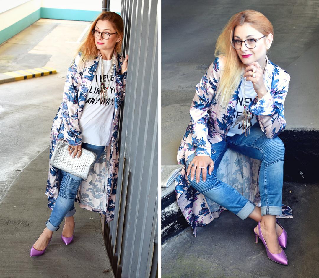 Streetstyle mit Kimono für Frauen, Modeblog