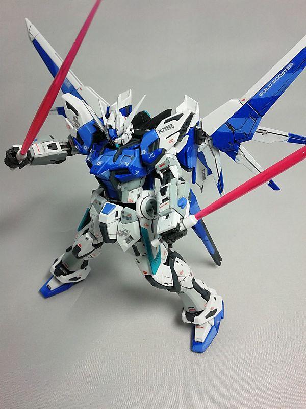 รีวิวกันพลา RG Build Strike Gundam Full Package 1/144