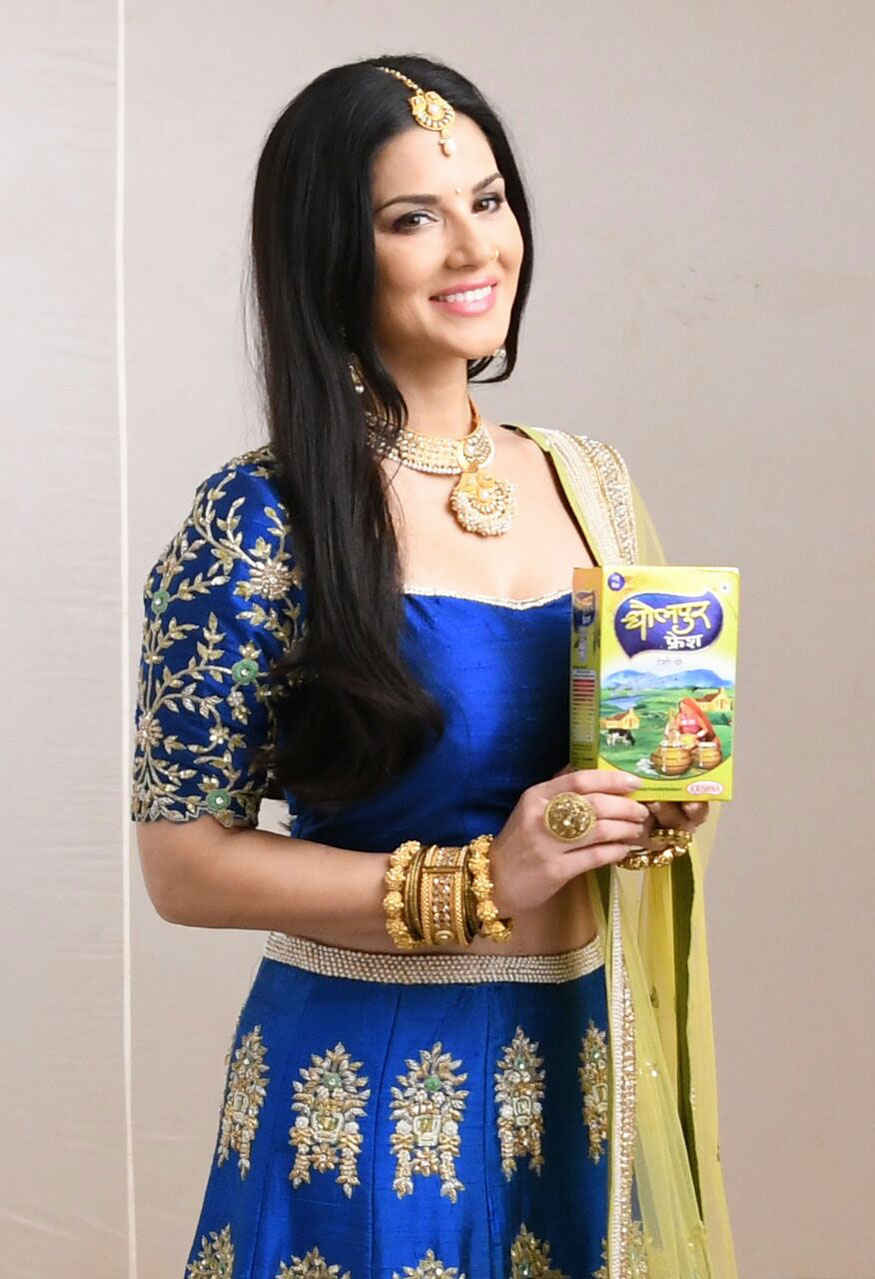 Balaji Creators shoots with Sunny Leone In Commercial for Dholpur Fresh's Desi Ghee