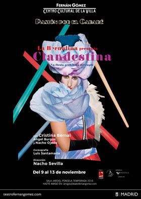 Clandestina, pasión por el cabaré en el teatro Fernán Gómez