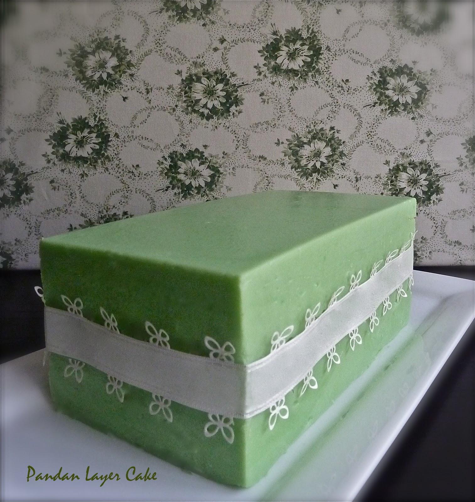 Helena Kitchen Pandan Layer Cake