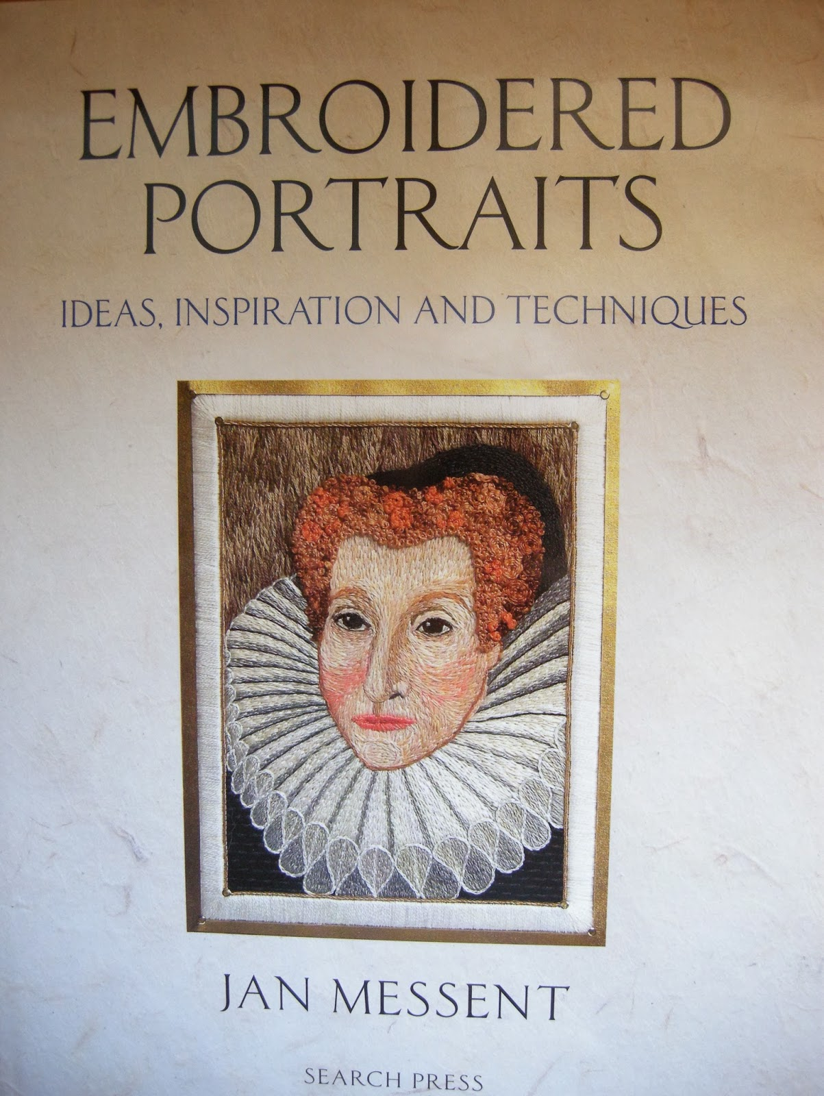 In spite of the title, the book is mainly about stumpwork portraits, and  has a different approach to that of this excellent book, that I have  enjoyed using ...