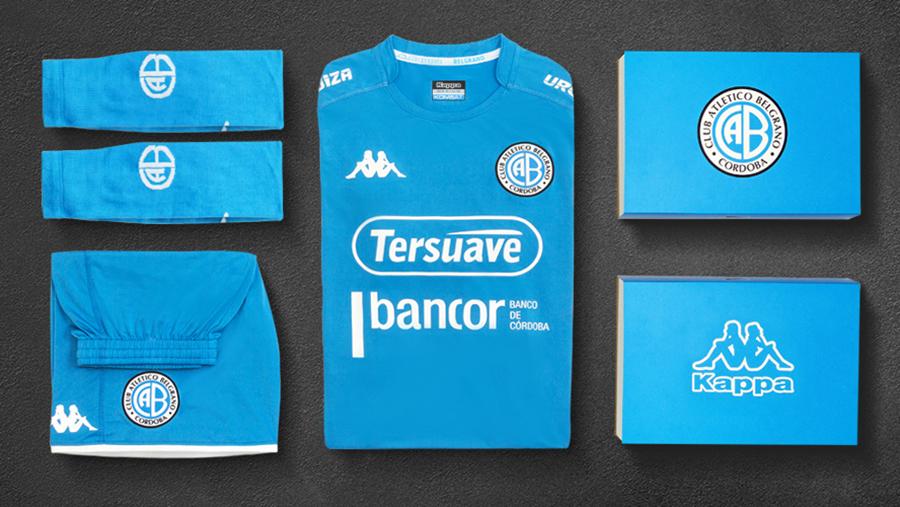 141b124b2 Italian brand Kappa released new 2018 Home and Away Kits for Argentinian  football club Belgrano.