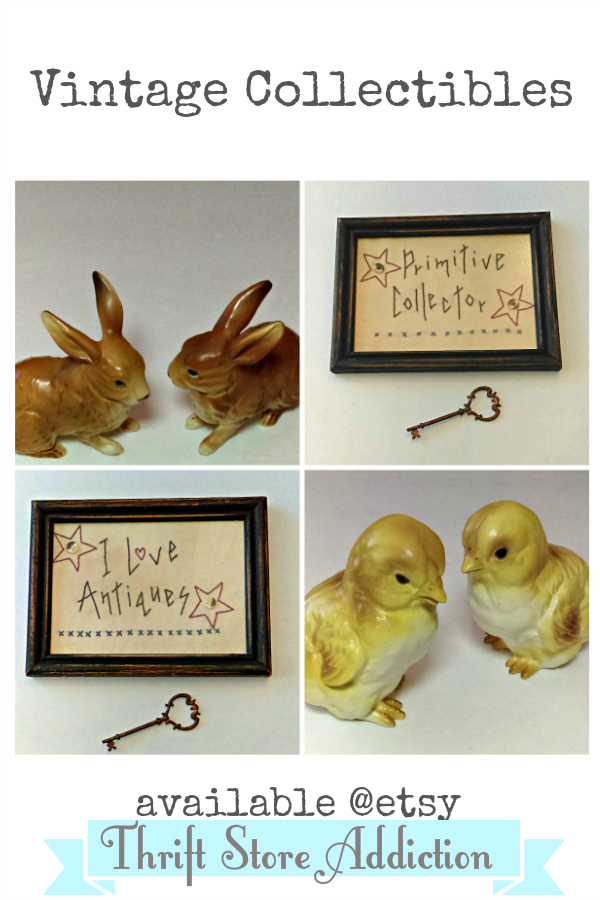 Vintage collectibles etsy Thrift Store Addiction