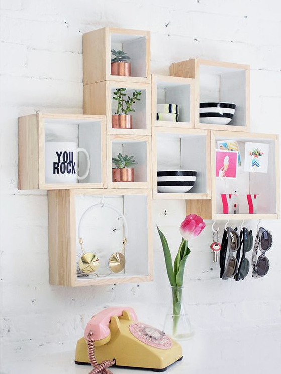 DIY%2BFunctional%2B%2526%2BStylish%2BWall%2BShelves%2BFor%2BInterior%2BHome%2BDesign%2BThat%2BYou%2527ll%2BLove%2B%25281%2529 25+ DIY Practical & Fashionable Wall Cabinets For Inside House Design That You can Love Interior