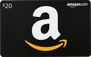 Amazon gift card giveaway graphic