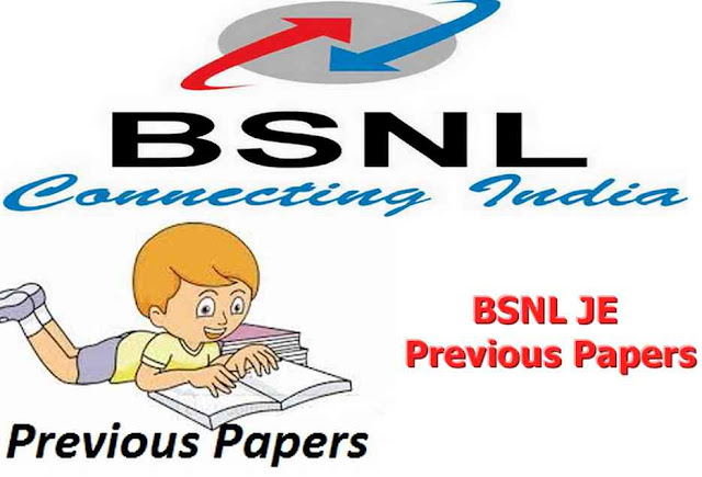 BSNL JE Previous Papers