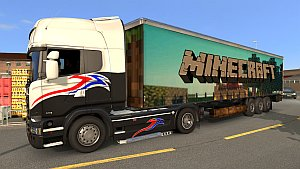 Minecraft trailer mod for 1.20