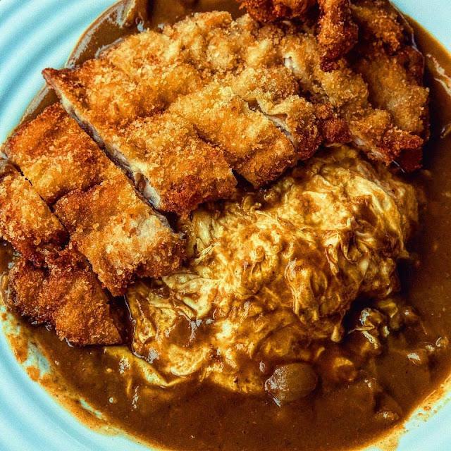 Chicken Cutlet Omurice
