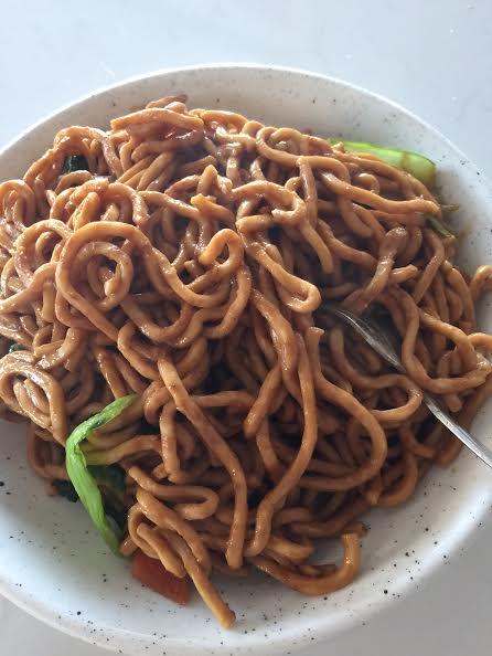 shanghainese noodles;  mums dumplings