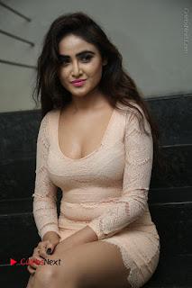Telugu Actress Model Sony Charishta Stills in Short Dress at Rapture 2017 Grand Logo Launch  0185.JPG