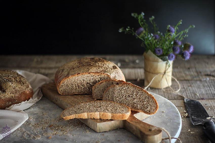 como hacer masa madre pan