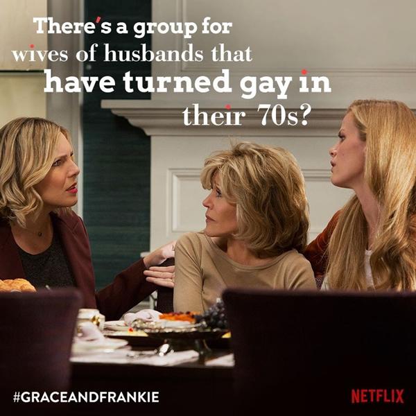 """Brianna, Grace and Mallory - """"Há algum grupo para mulheres de homens que viraram gays aos 70?"""" (Brianna Hanson)"""