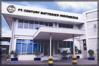Lowongan Kerja SMK Otomotif di PT Century Batteries Indonesia (CBI) KIM Karawang