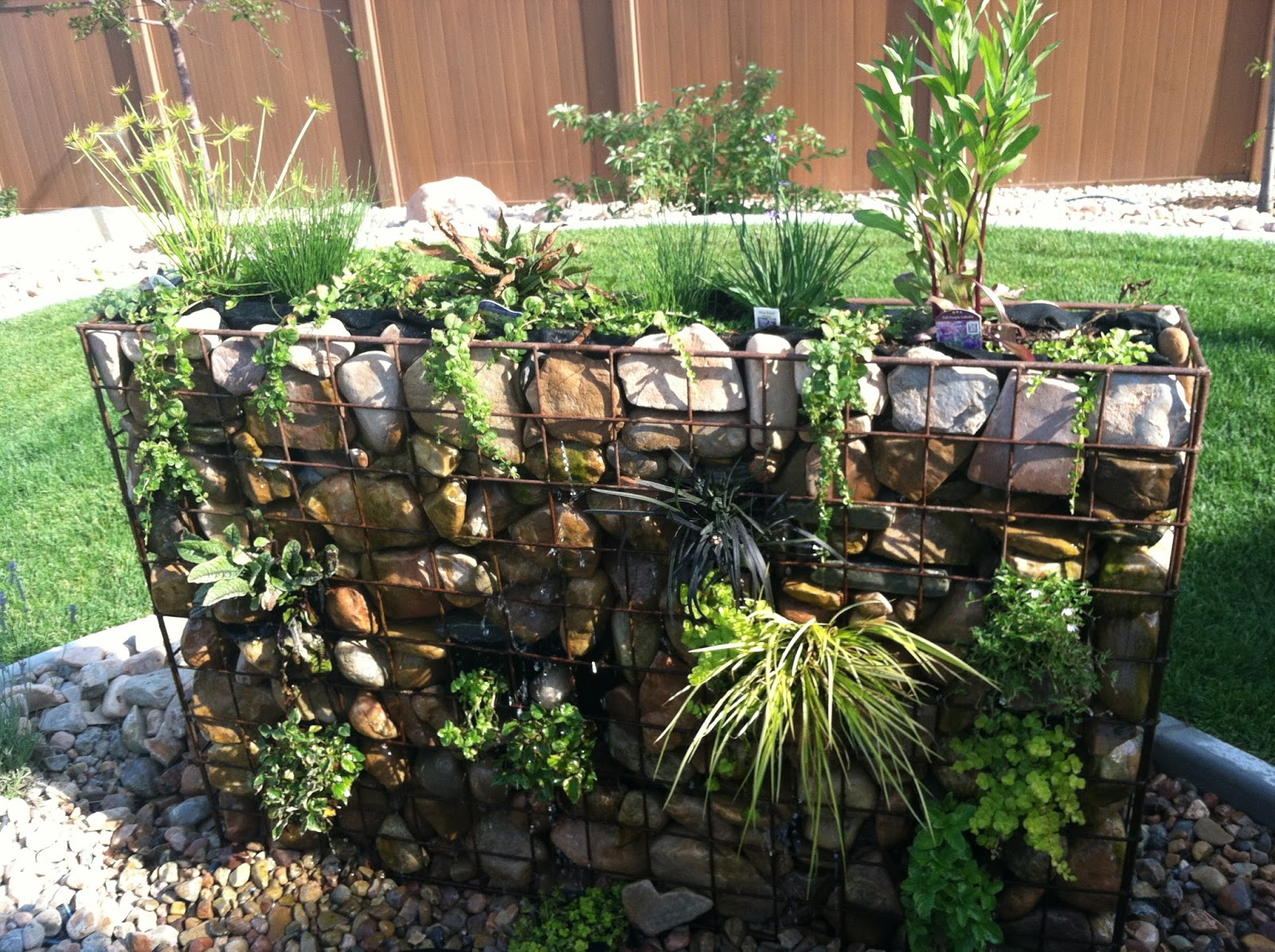 Utilize A Gabion Wall All ! Garden Bible