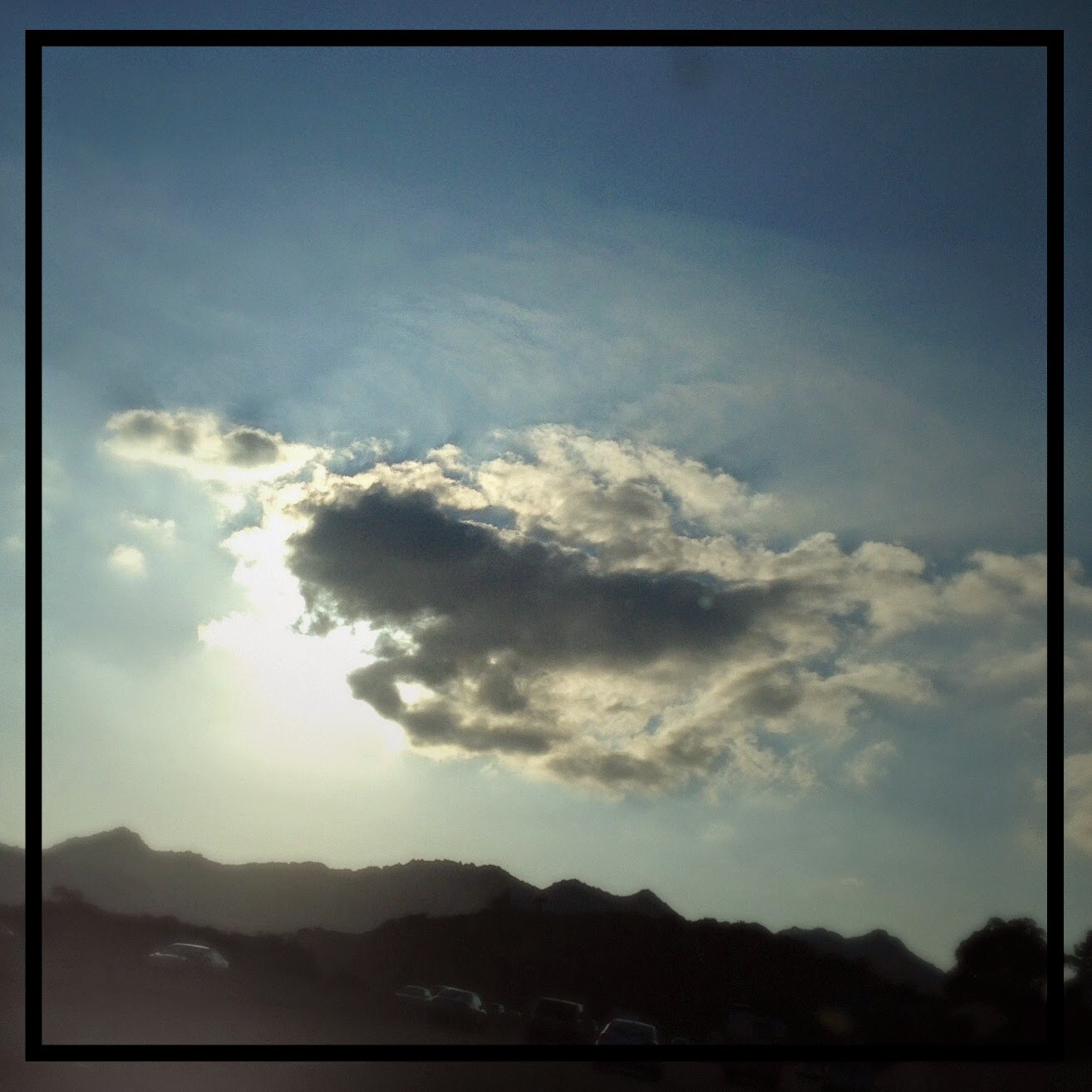 """A horse with its head in the clouds"" on The 3 Rs Blog"