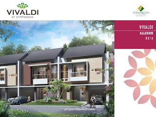 Rumah Cluster Vivaldi Tipe L8