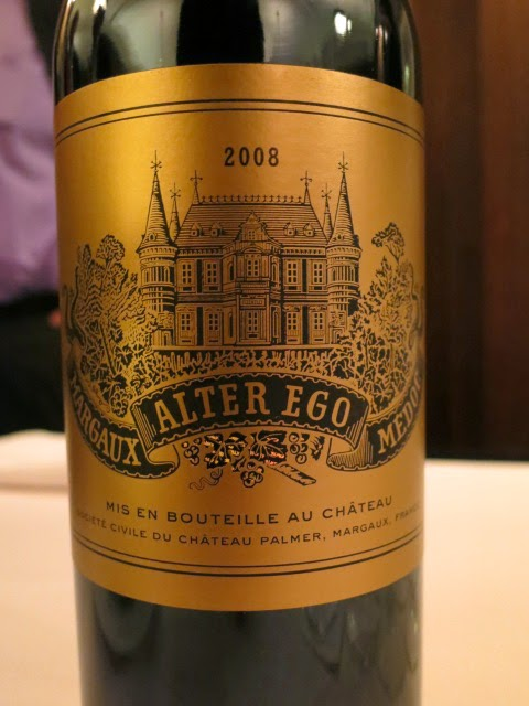 Wine Review of 2008 Alter Ego from AC Margaux, Bordeaux, France