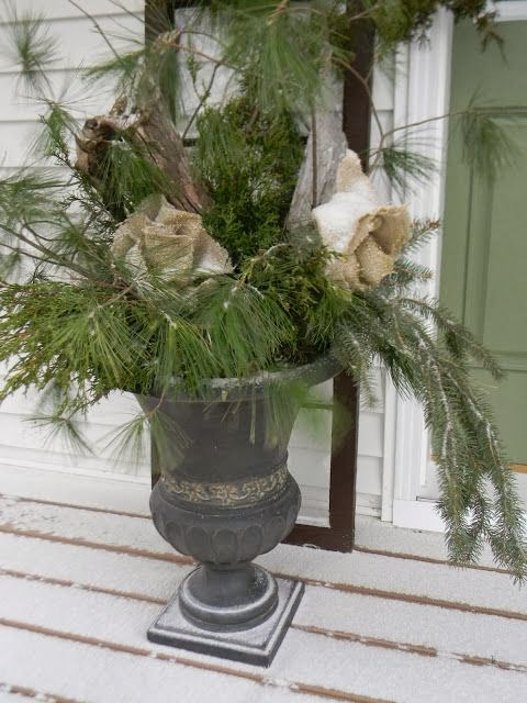 Focal Point Styling Decorating With Urns For The Holidays