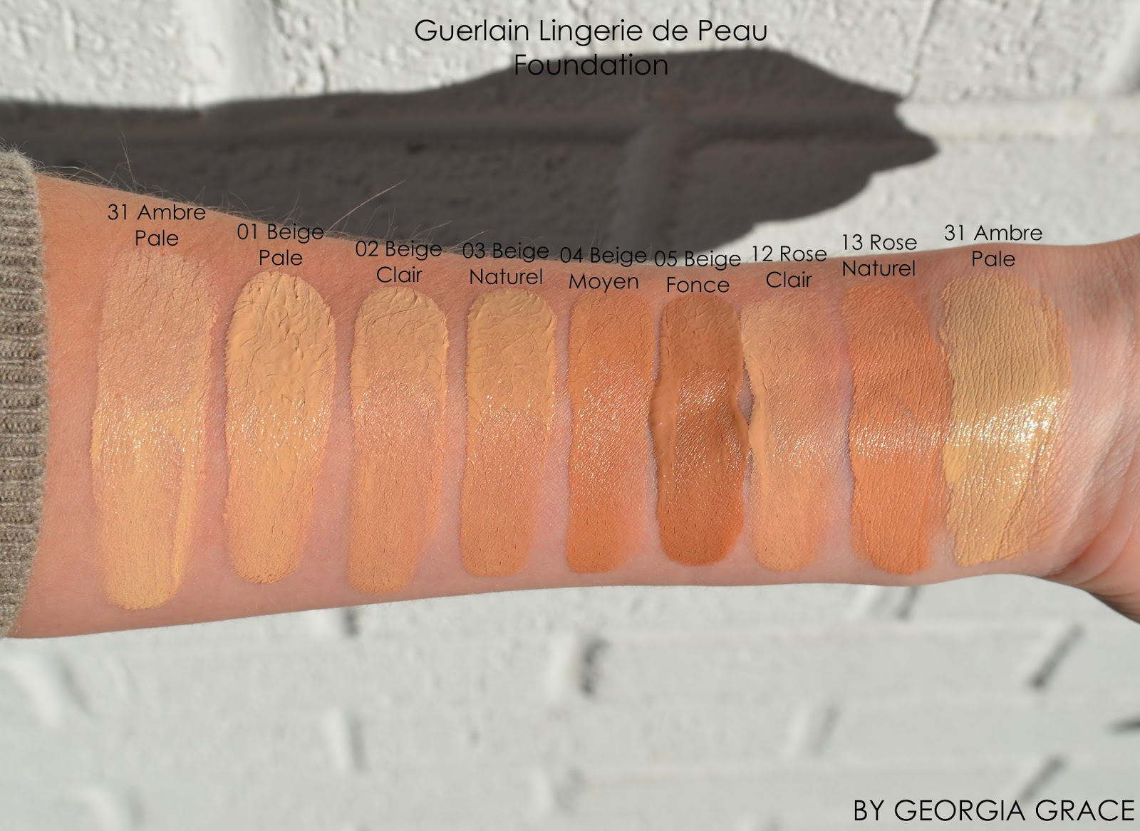 Lingerie De Peau Natural Perfection Foundation by Guerlain #22