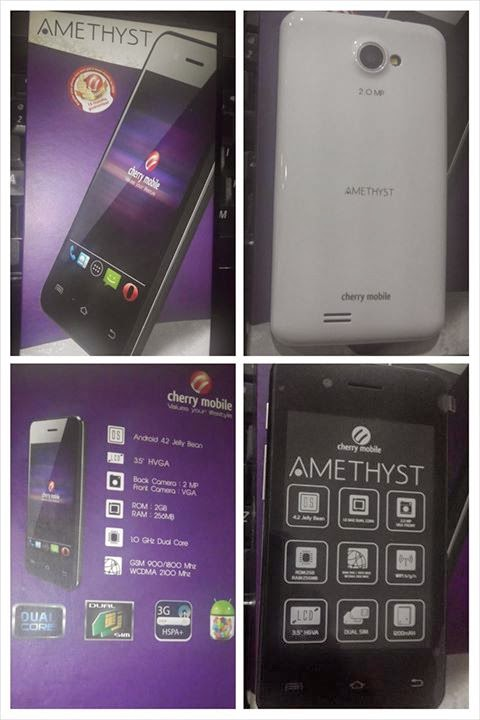 Cherry Mobile Amethyst