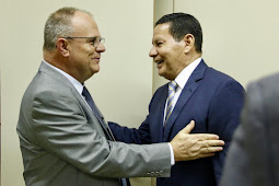 Em reunião conjunta, Belivaldo volta a discutir situação da Fafen com vice-presidente da República