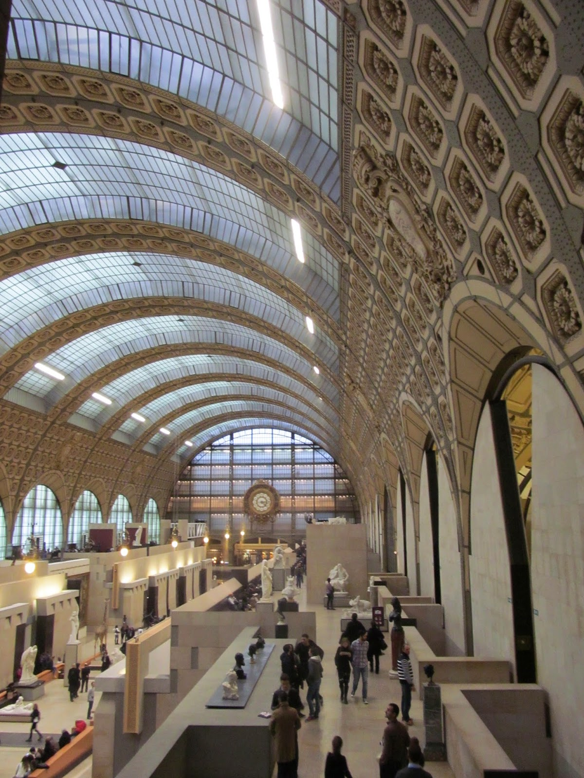 inside musee d'orsay paris