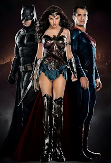 gambar Batman VS Superman wonder woman