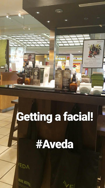 Working on My Nightly Skincare Rountine with Aveda's Tulasara Wedding Collection  via  www.productreviewmom.com