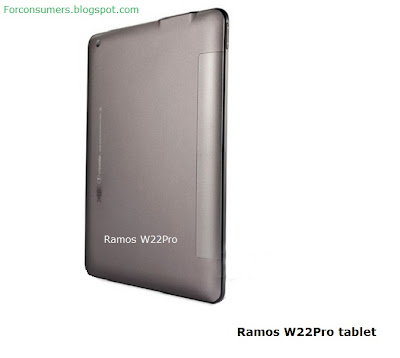 Ramos W22Pro tablet back