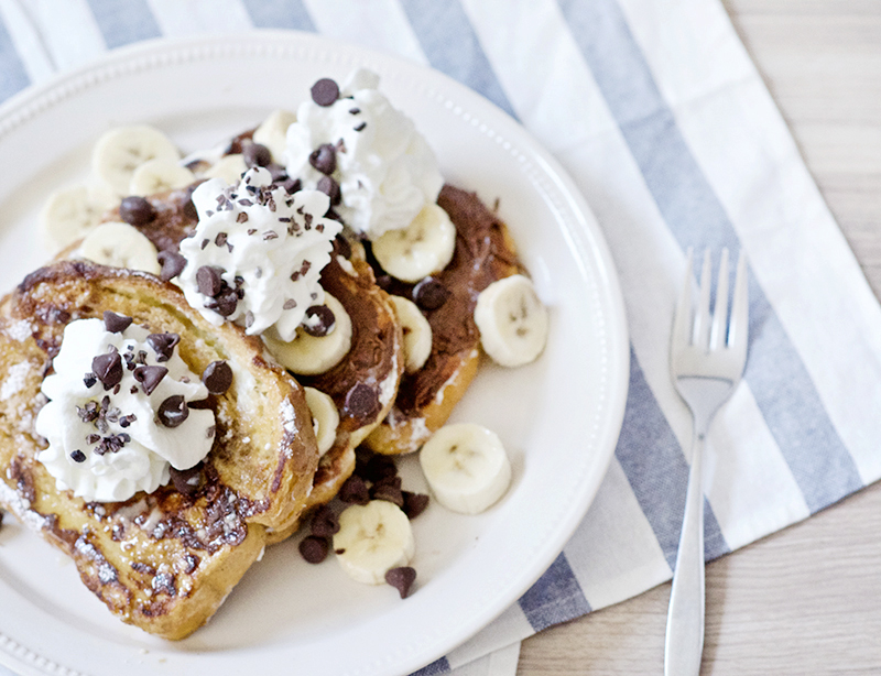 Nutella Banana French Toast | Obsessive Cooking Disorder