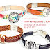 How to Measure and Make European Leather Bracelets With Any Clasp