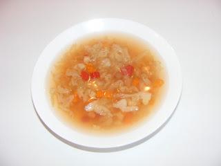 Supa de varza de post retete culinare,