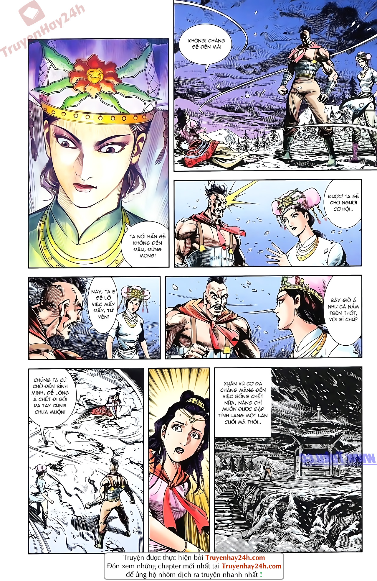 Tần Vương Doanh Chính chapter 51 trang 28
