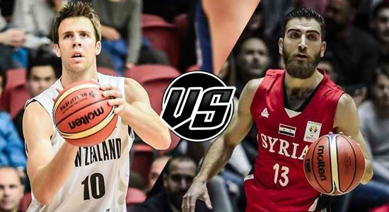 Live Streaming List: New Zealand vs Syria 2019 FIBA World Cup Qualifiers Asia 5th Window