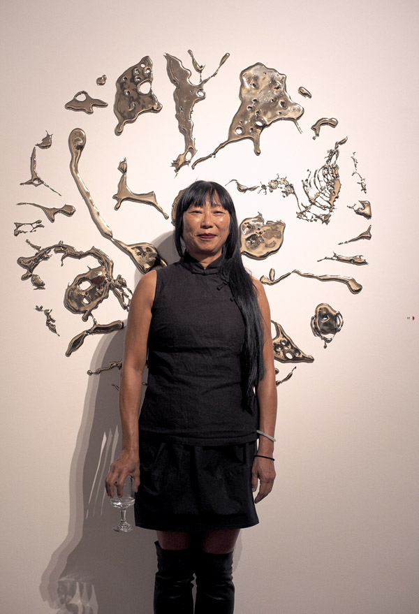 Artits Portrait, Lindy Lee, One Billion Worlds - Roslyn Oxley9 Gallery 2012