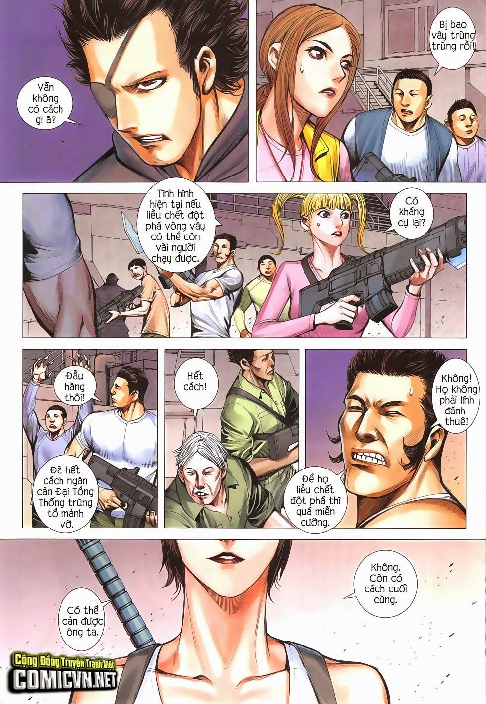 Đại Quân Phiệt chap 51: trận cuối của đại tổng thống trang 29