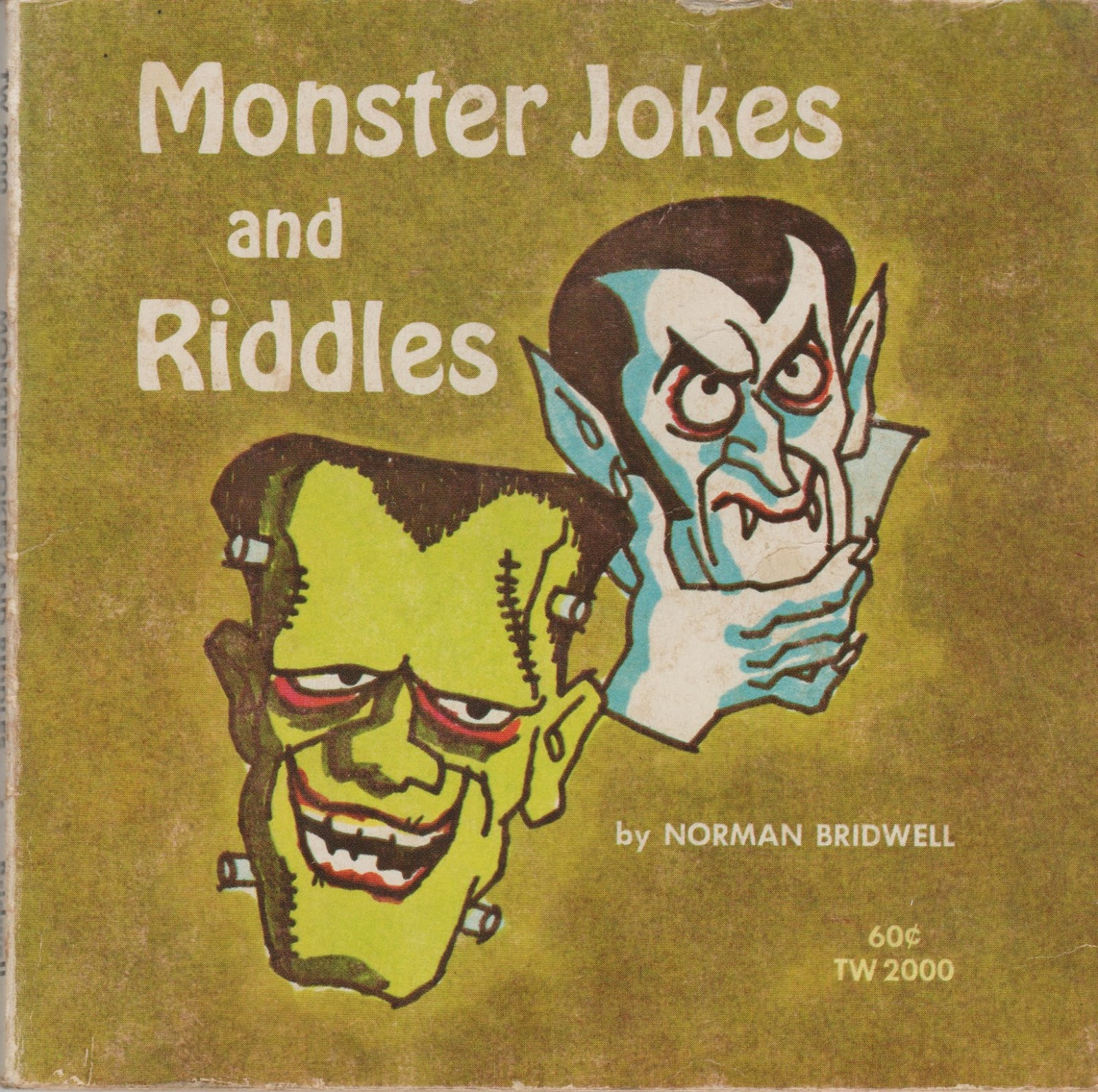 Garage Sale Finds: Halloween Monster Jokes & Riddles