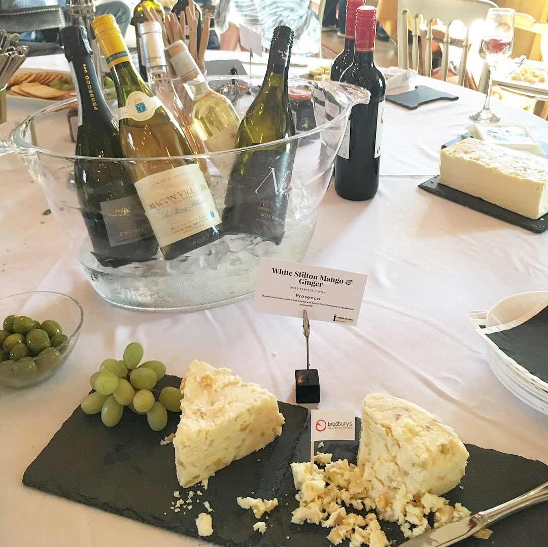Cheese and Wine Fun at the International Cheese Awards Press Launch, London