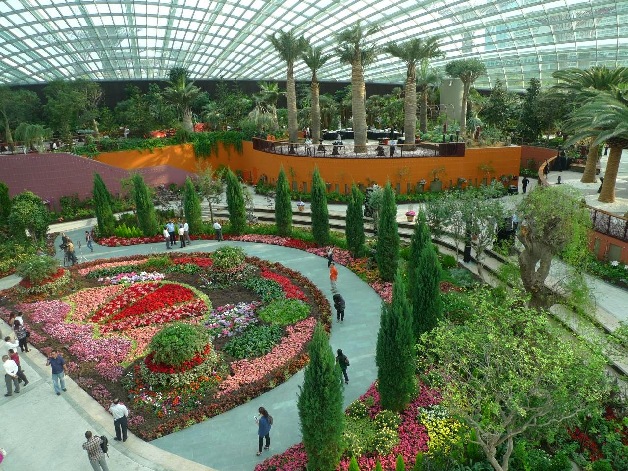 Flower Dome Taman Singapura