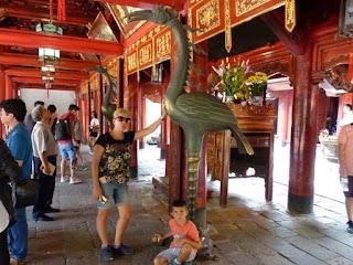 Templo de la Literatura de Hanoi.