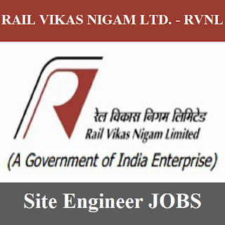 Rail Vikas Nigam Limited, RVNL, Site Engineer, Graduation, freejobalert, Sarkari Naukri, Latest Jobs, rvnl logo