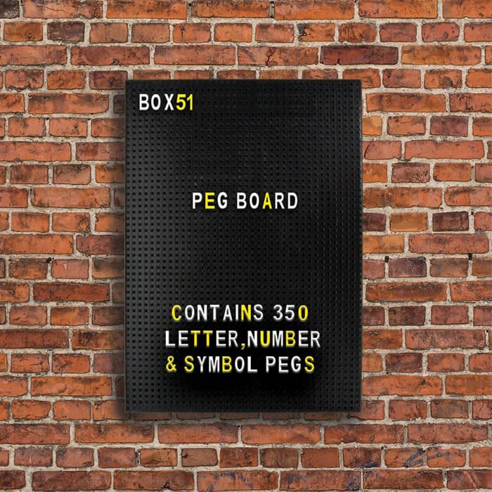 Bacheca Peg Board