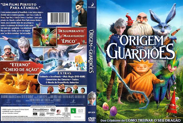 Capa DVD A ORIGEM DOS GUARDIÕES